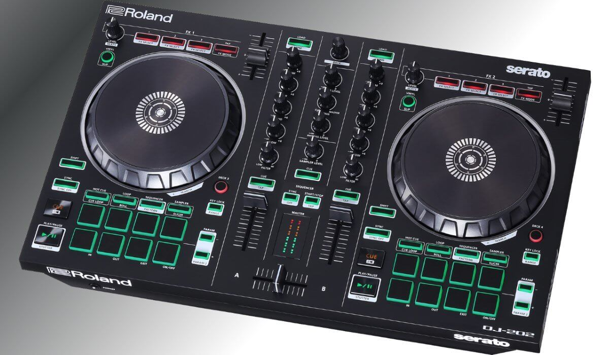 roland dj 202 djtechzone is your daily dose of dj gear news and reviews. Black Bedroom Furniture Sets. Home Design Ideas