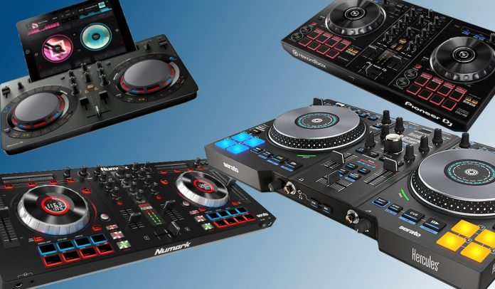 best dj controllers for beginners in 2016 djtechzone. Black Bedroom Furniture Sets. Home Design Ideas