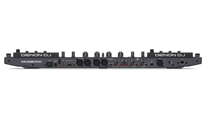 Denon DJ MCX8000 back view