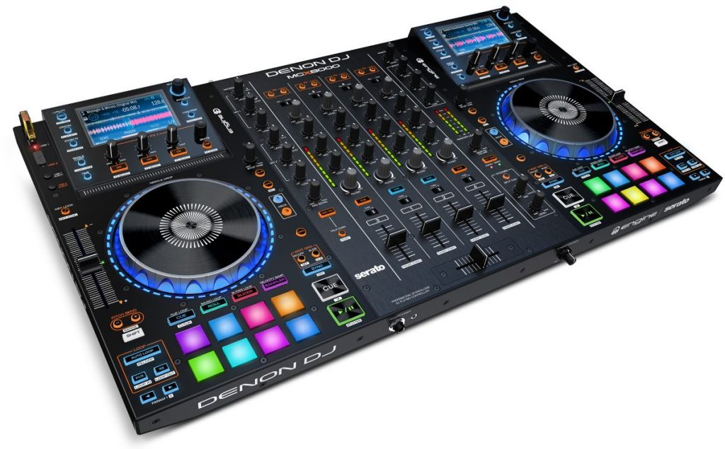 Denon DJ MCX8000 side view