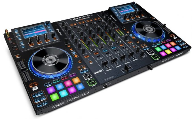 Denon DJ MCX8000 side view