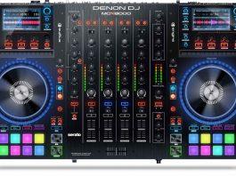 Denon DJ MCX8000 top view