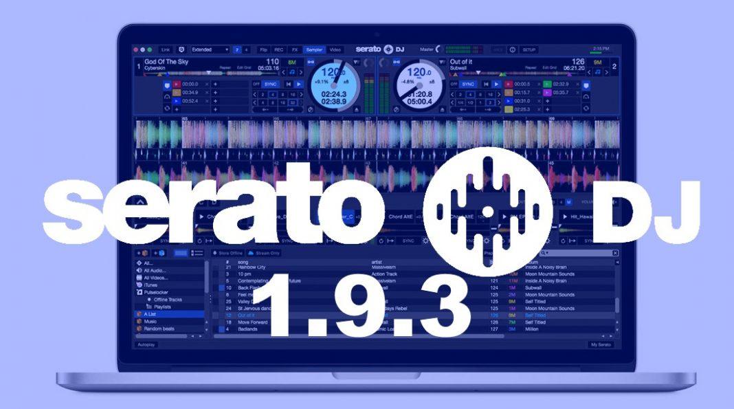 Serato DJ 1.9.3