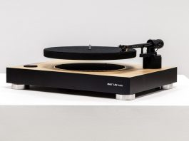 Mag Lev levitating turntable