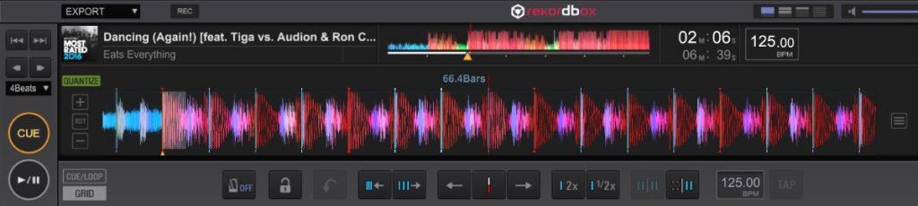 Rekordbox DJ beatgridding & sync