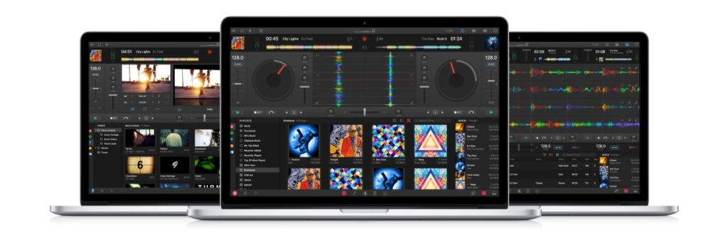 djay Pro for Mac screens overview