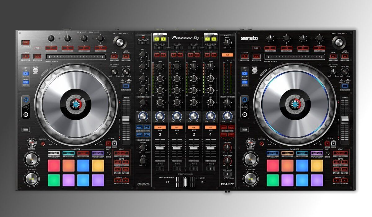 pioneer dj ddj sz2 launched. Black Bedroom Furniture Sets. Home Design Ideas