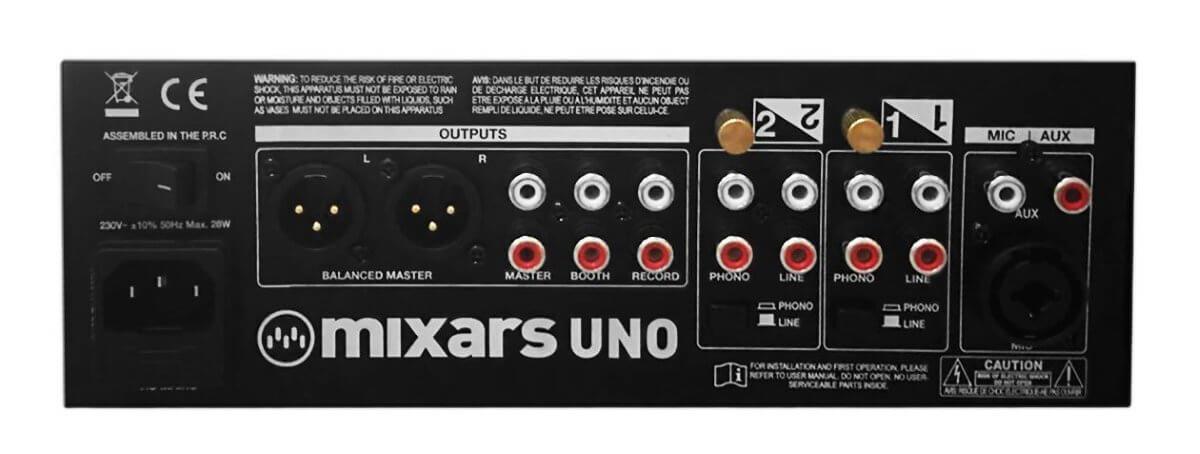 Mixars Uno back