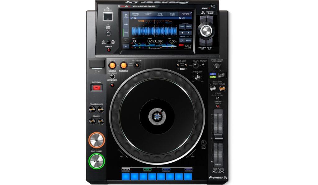 Pioneer DJ XDJ-2000 mockup