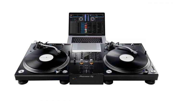 Pioneer DJ DJM-250MK2 DVS setup