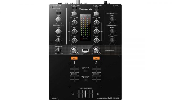 Pioneer DJ DJM-250MK2 top view