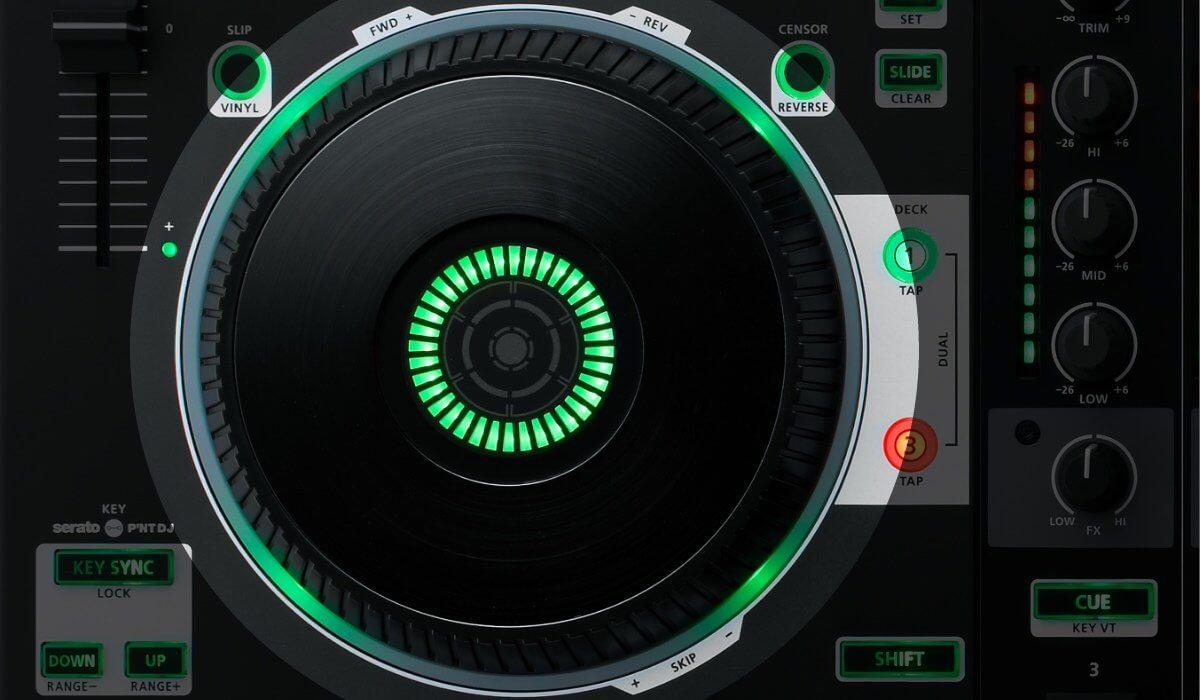 Roland DJ-808 jog wheels