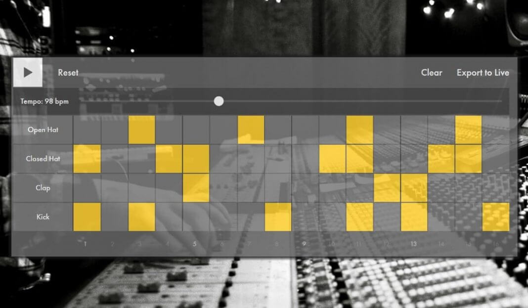 Ableton learning music web app launched
