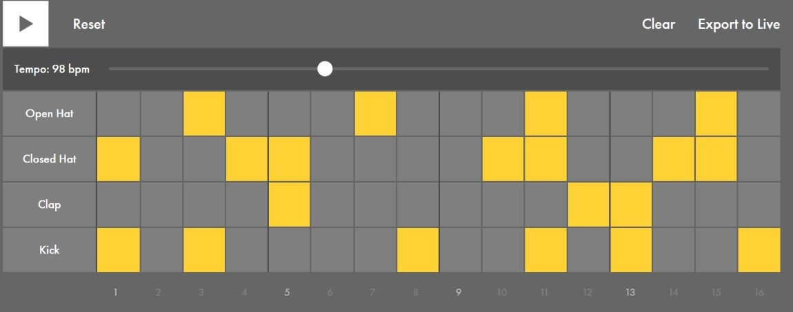 Ableton making music app simulator
