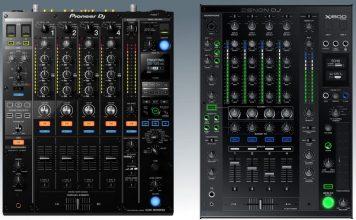 CDJ-2000NXS2 compared to the X1800 Prime