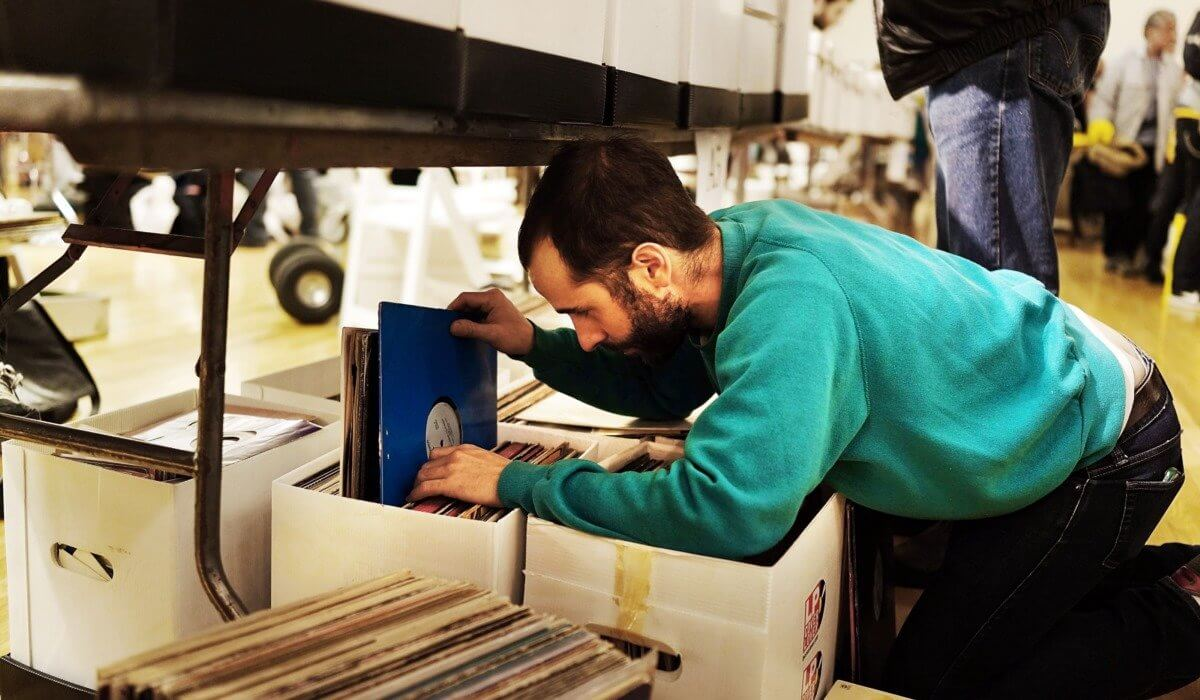 The long lost art of crate digging