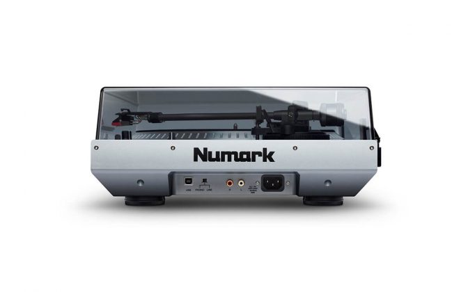 Numark NTX1000 rear view