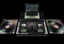 Native Instruments Traktor Kontrol S4 + DVS expansion.