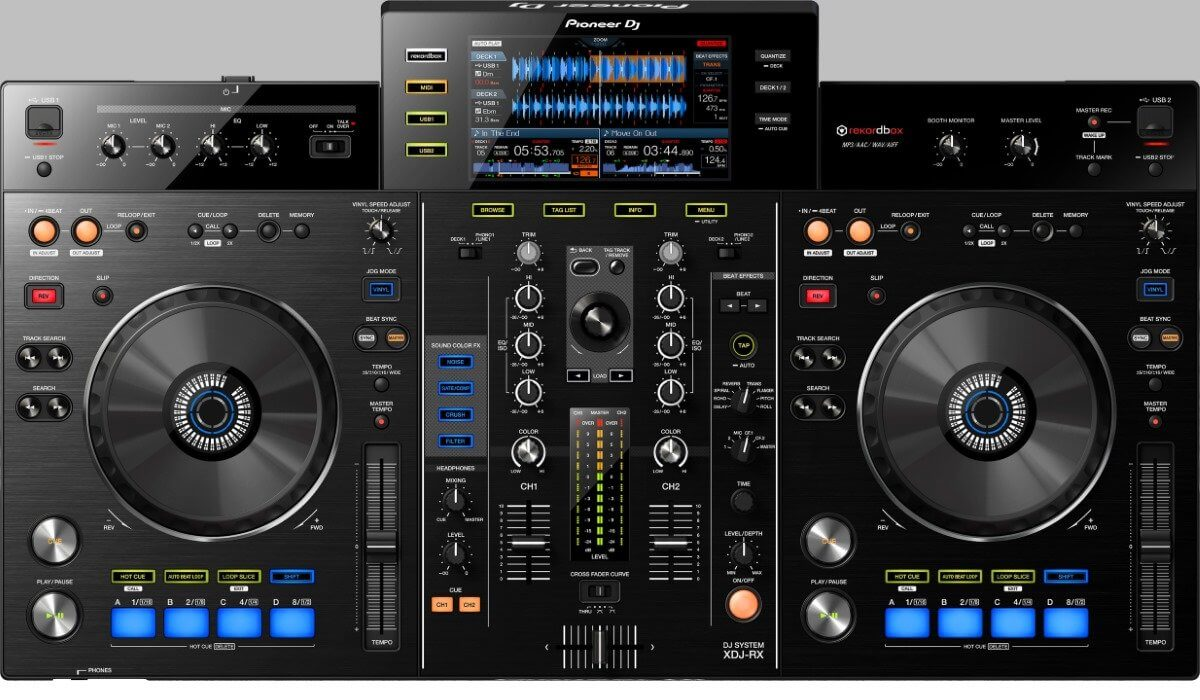 Pioneer DJ XDJ-RX, the current model.