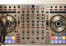 Pioneer DJ DDJ-SX2 gold version