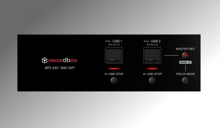 Pioneer DJ XDJ-RX2 double USB input