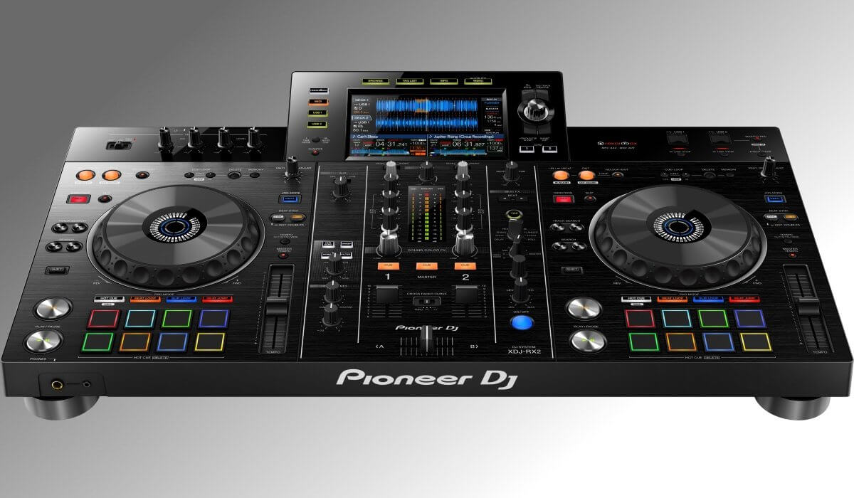 pioneer dj launches the xdj rx2 all in one dj system. Black Bedroom Furniture Sets. Home Design Ideas