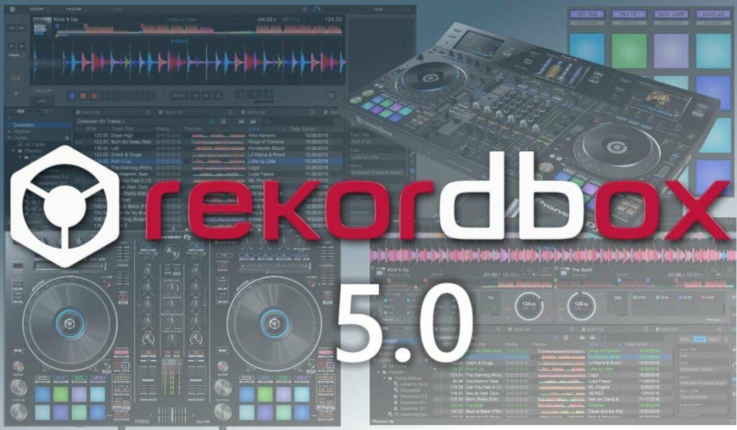 Rekordbox 5.0