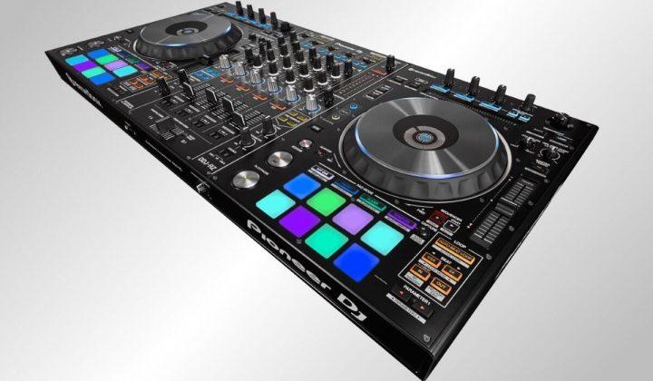 Pioneer DJ DDJ-RZ side view