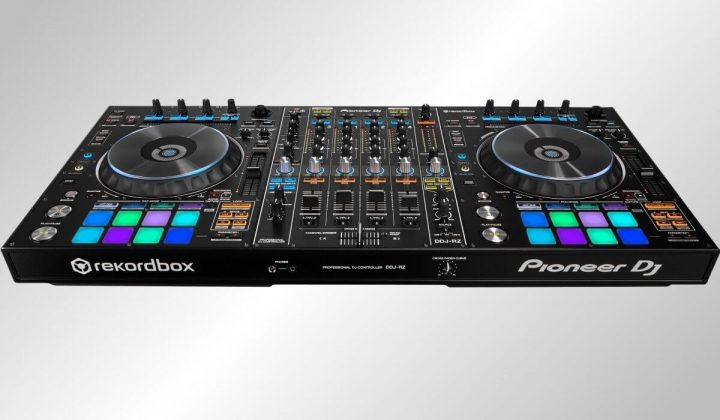 Pioneer DJ DDJ-RZ front view