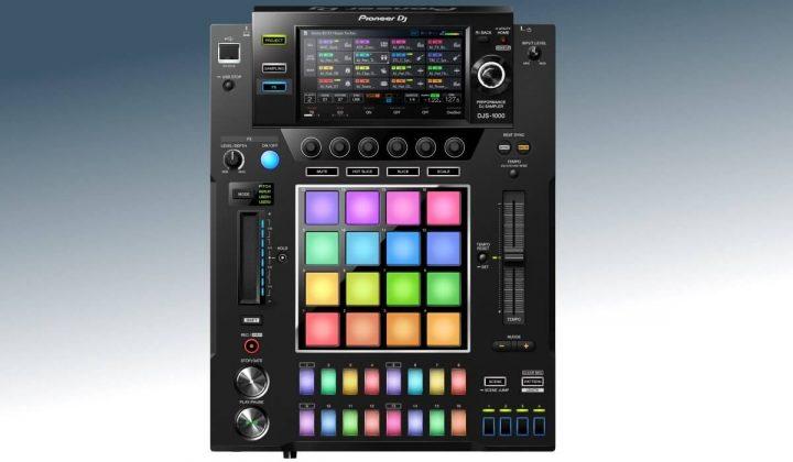 Pioneer DJ DJS-1000 top view