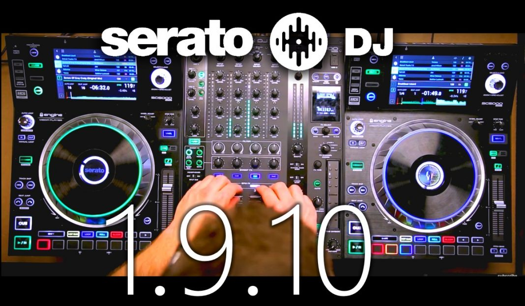 Serato DJ 1.9.10 upgrade