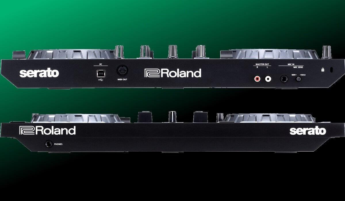 Roland DJ-202 inputs & outputs