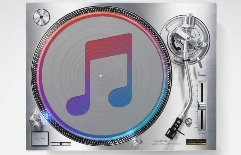 iTunes and Djing