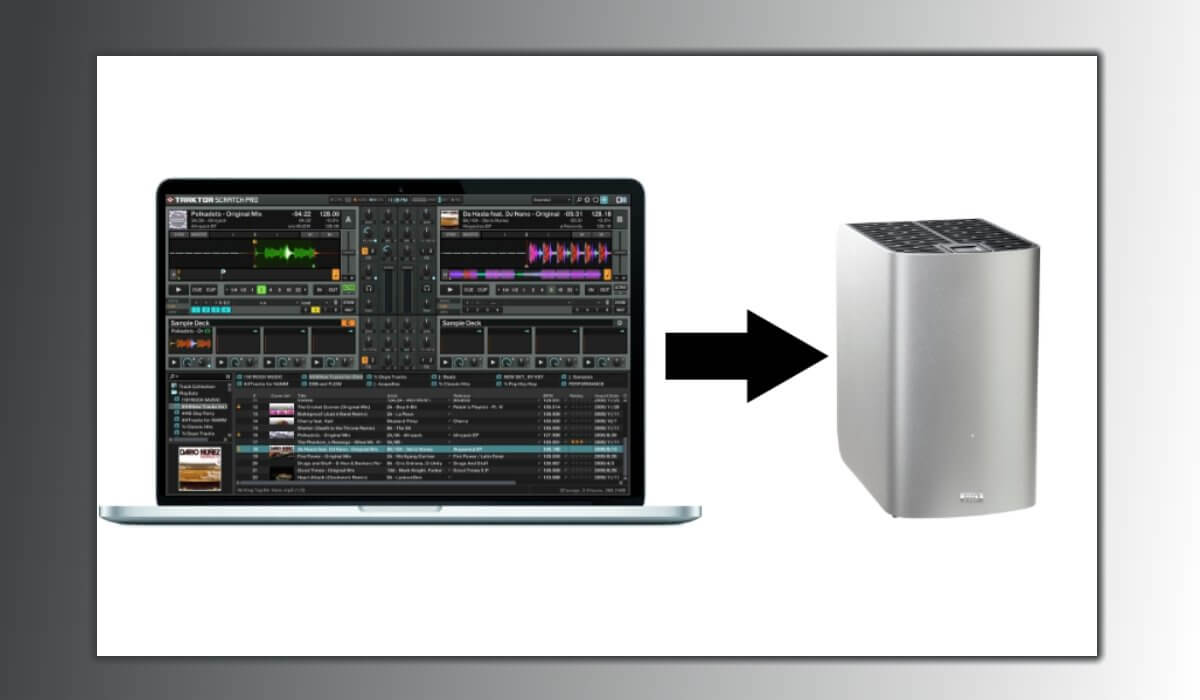 Always make backup copies of your music!