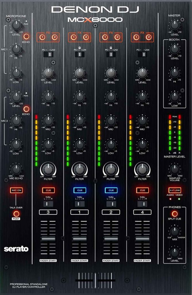 MCX8000 mxer