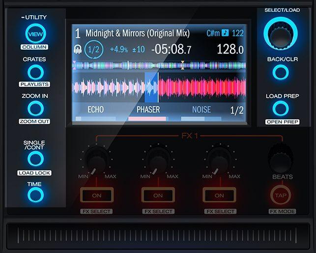 MCX8000 Screens