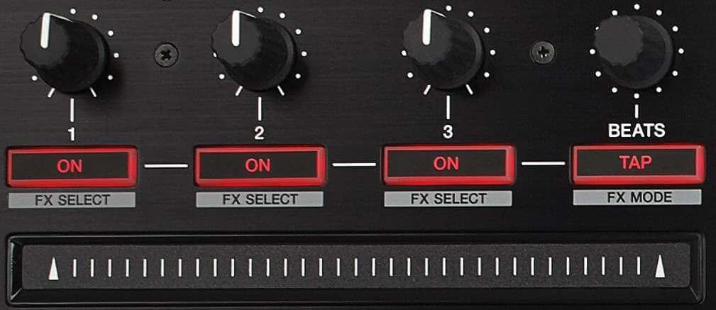 Pioneer DJ DDJ-SZ Deck Effects