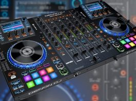 Denon DJ MCX8000 Serato DJ and Engine controller.