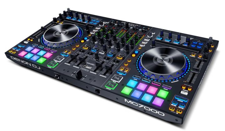 Denon DJ MC7000 side view