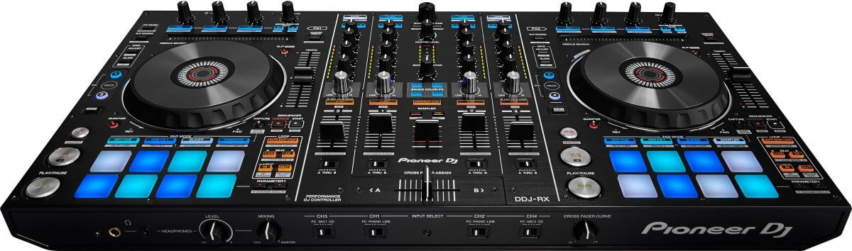 Pioneer DDJ-RX front view