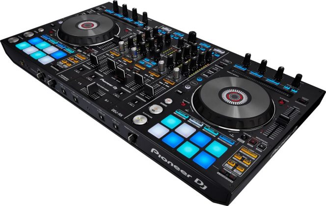 Pioneer DDJ-RX side view