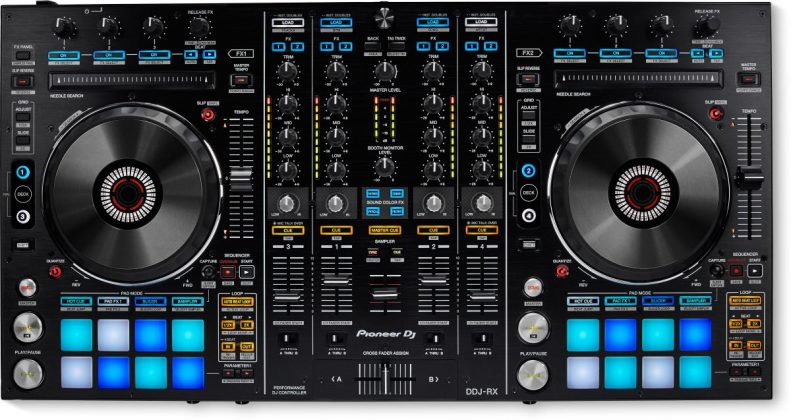 Pioneer DDJ-RX top view
