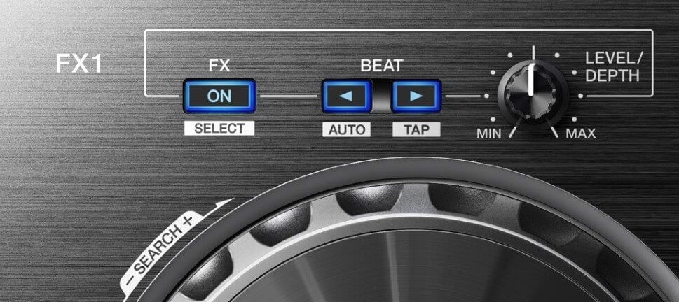Pioneer DJ DDJ_RB Effects Section