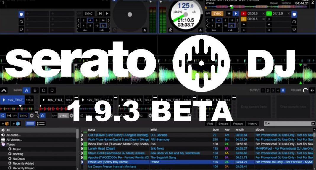 Serato DJ 1.9.3 Beta