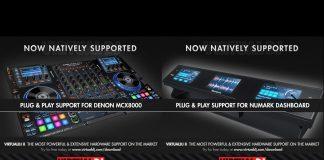 Virtual DJ and Numark Dasboard, Denon DJ MCX8000