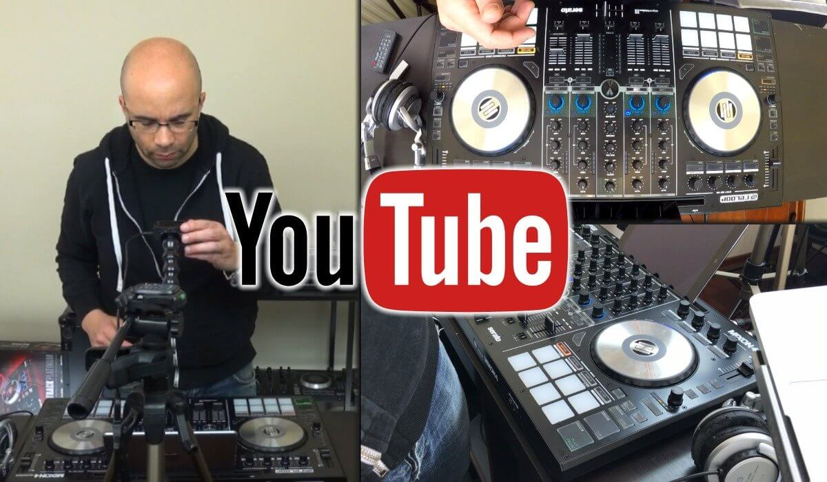 Creating and uploading a mix to youtube