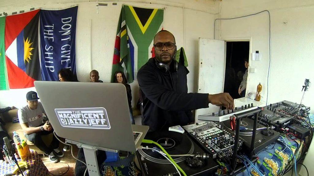 DJ Jazzy Jeff Boiler Room setup