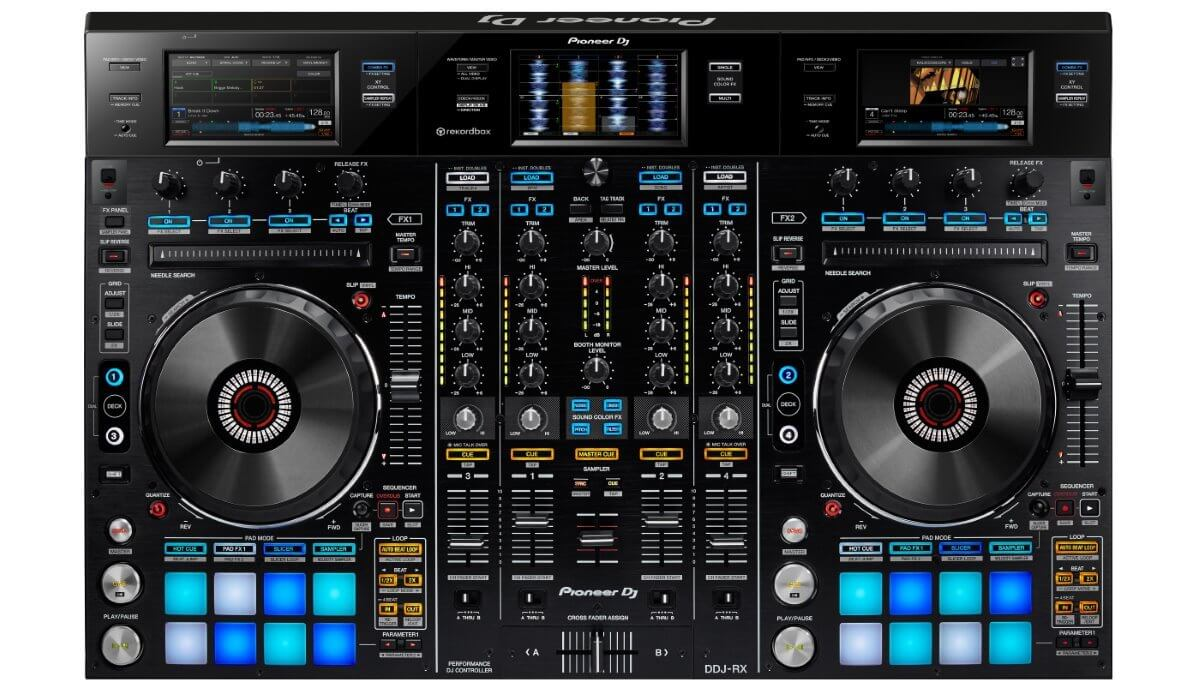 The succesor of the XDJ-RX might look like this.