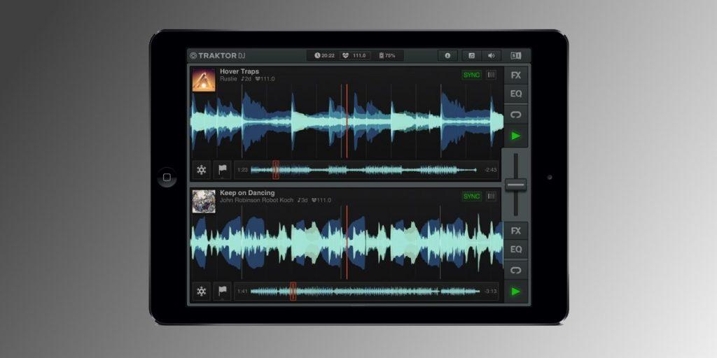 Traktor DJ IOS app