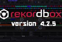 Rekordbox version 4.2.5